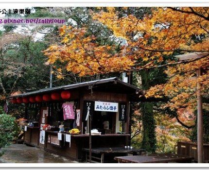 [2007 楓京都] 在層層楓紅下喝茶。高雄茶屋