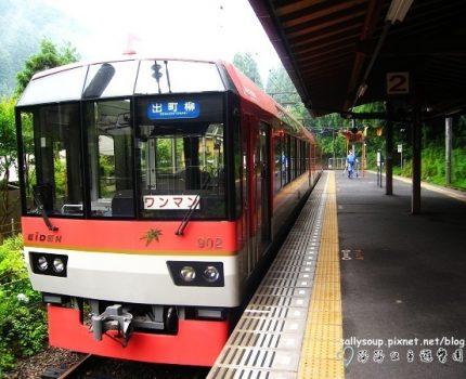 [艷夏京都] 叡山電車.穿越綠色隧道