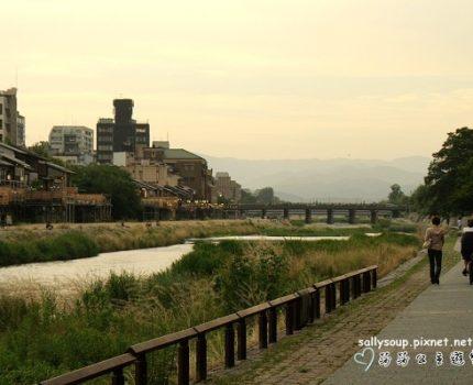 [艷夏京都] 鴨川河畔散步