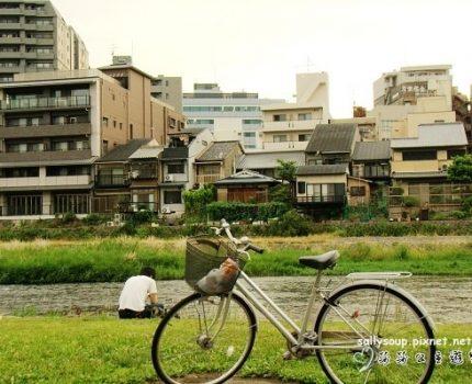京都.在鴨川散步