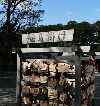 北海道神宮.遇見旅行中的好運氣