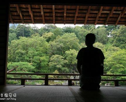 [旅行.艷夏京都] 那一天,我們在天龍寺…