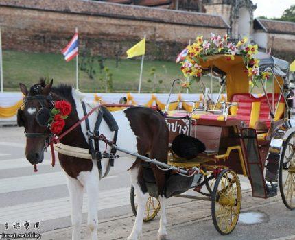 [旅行地圖] 泰國.乘著馬車悠遊南邦