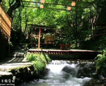[旅遊地圖] 京都.夏天的鞍馬與貴船