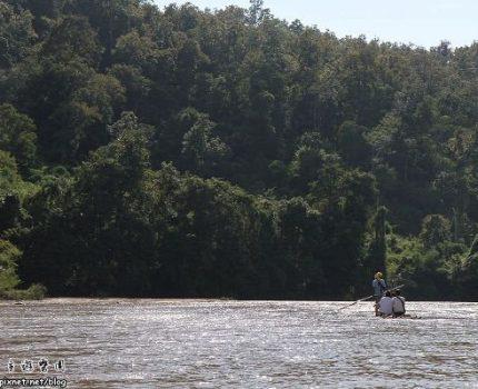 [旅行地圖] 泰國.擺河的竹筏水上漂