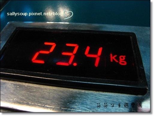 02. 行李的重量