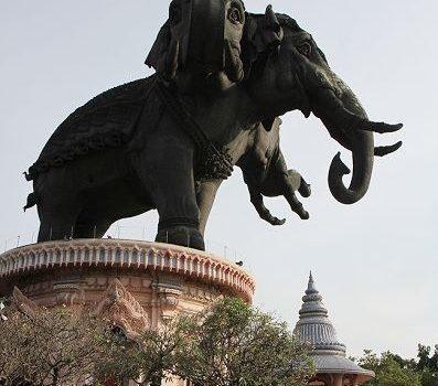 [旅行地圖] 曼谷.粉紅色的三頭象博物館