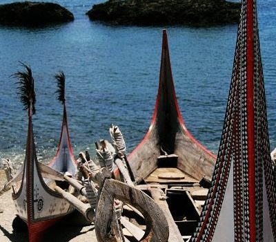 [蘭嶼.藍色島嶼] 東清灣.拼板舟