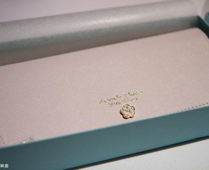 我的生日禮物。Samantha Thavasa 山茶花粉嫰長夾