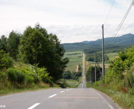 [北海道夏之旅] 富良野。雲霄飛車之路。大人版的雲霄飛車