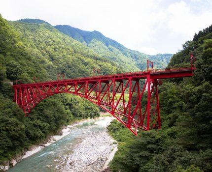 [富山夏日輕旅行] 黑部峽谷小火車,宇奈月到櫸平的峽谷景色